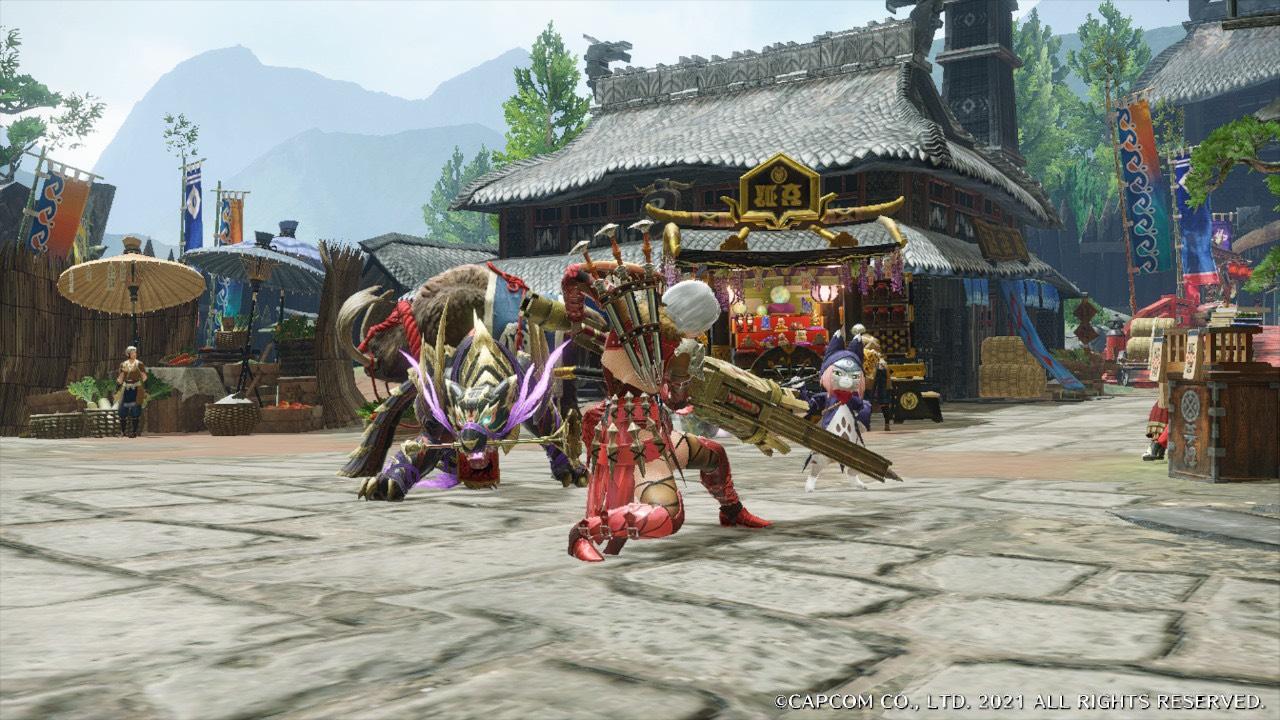 MONSTER HUNTER RISE カプコンコラボイベント☆「破滅の鳥竜?」でアイルーの重ね着ゲットしちゃおう!